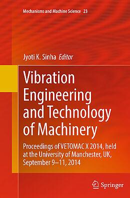 Kartonierter Einband Vibration Engineering and Technology of Machinery von