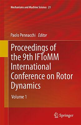Kartonierter Einband Proceedings of the 9th IFToMM International Conference on Rotor Dynamics von