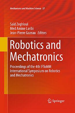 Kartonierter Einband Robotics and Mechatronics von
