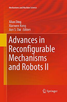 Kartonierter Einband Advances in Reconfigurable Mechanisms and Robots II von