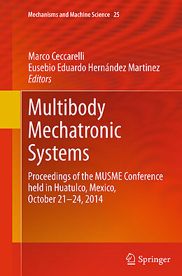Kartonierter Einband Multibody Mechatronic Systems von
