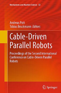 Kartonierter Einband Cable-Driven Parallel Robots von