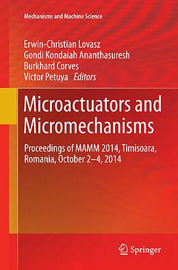 Kartonierter Einband Microactuators and Micromechanisms von