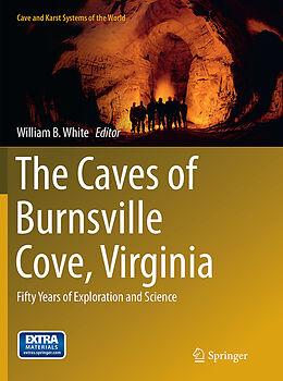 Kartonierter Einband The Caves of Burnsville Cove, Virginia von
