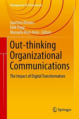 E-Book (pdf) Out-thinking Organizational Communications von