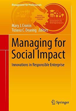 E-Book (pdf) Managing for Social Impact von