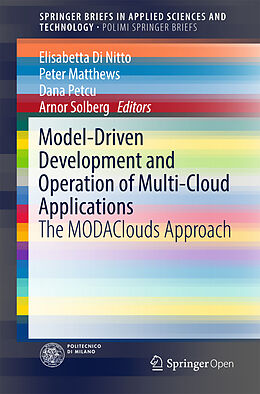 Kartonierter Einband Model-Driven Development and Operation of Multi-Cloud Applications von