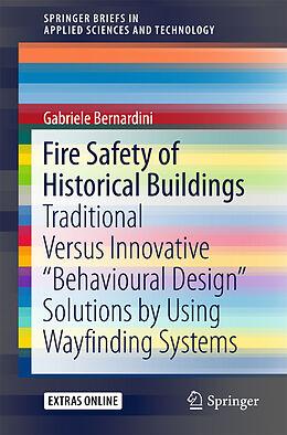 Kartonierter Einband Fire Safety of Historical Buildings von Gabriele Bernardini