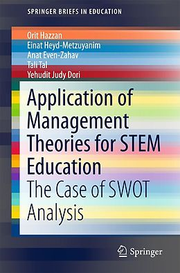 E-Book (pdf) Application of Management Theories for STEM Education von Orit Hazzan, Einat Heyd-Metzuyanim, Anat Even-Zahav