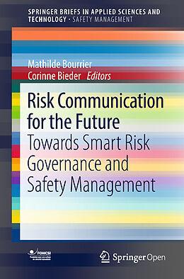 Kartonierter Einband Risk Communication for the Future von