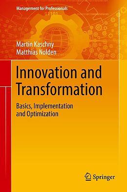 E-Book (pdf) Innovation and Transformation von Martin Kaschny, Matthias Nolden