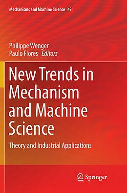 Kartonierter Einband New Trends in Mechanism and Machine Science von