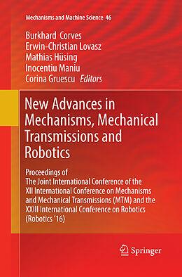 Kartonierter Einband New Advances in Mechanisms, Mechanical Transmissions and Robotics von