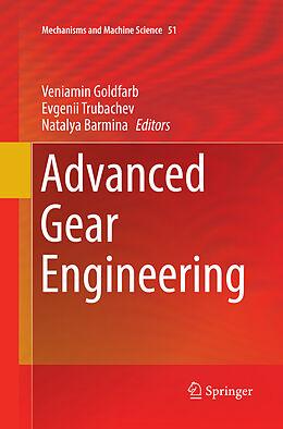 Kartonierter Einband Advanced Gear Engineering von