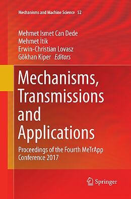 Kartonierter Einband Mechanisms, Transmissions and Applications von