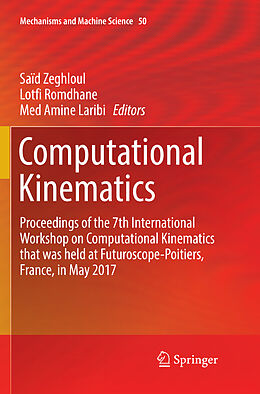 Kartonierter Einband Computational Kinematics von