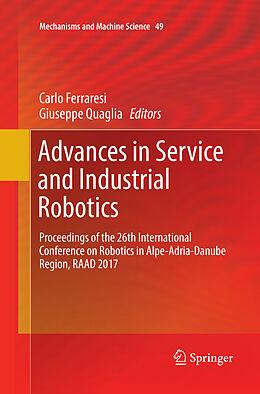 Kartonierter Einband Advances in Service and Industrial Robotics von