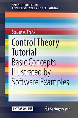 Kartonierter Einband Control Theory Tutorial von Steven A. Frank