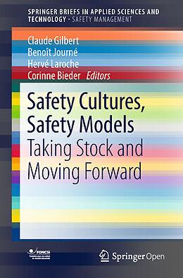 Kartonierter Einband Safety Cultures, Safety Models von