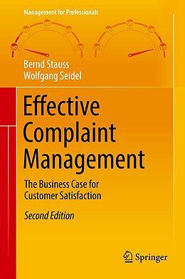 E-Book (pdf) Effective Complaint Management von Bernd Stauss, Wolfgang Seidel