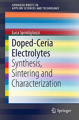 Kartonierter Einband Doped-Ceria Electrolytes von Luca Spiridigliozzi