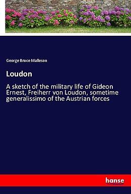 Kartonierter Einband Loudon von George Bruce Malleson