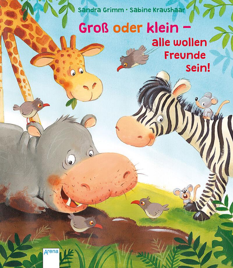 Groß oder klein - alle wollen Freunde sein! [Version allemande]
