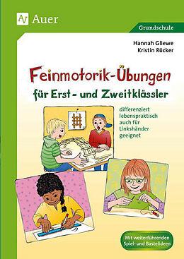 Feinmotorik-Übungen für Erst- und Zweitklässler - Kristin Rücker ...