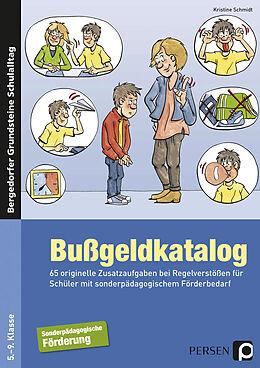 Kartonierter Einband Bußgeldkatalog Sonderpädagogische Förderung von Kristine Schmidt