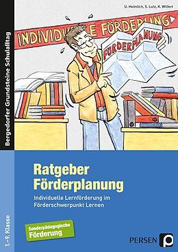 Kartonierter Einband Ratgeber Förderplanung von U. Heimlich, S. Lutz, K. Wilfert