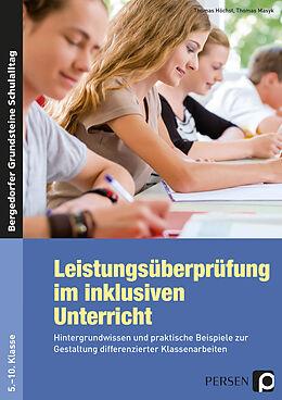 Kartonierter Einband Leistungsüberprüfung im inklusiven Unterricht von Thomas Höchst, Thomas Masyk