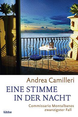 Kartonierter Einband Eine Stimme in der Nacht von Andrea Camilleri