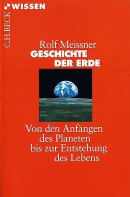 E-Book (pdf) Geschichte der Erde von Rolf Meissner