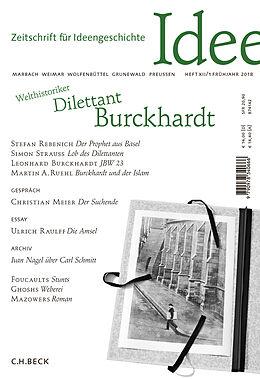 Zeitschrift für Ideengeschichte Heft XII/1 Frühjahr 2018 [Version allemande]