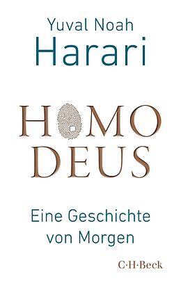 Kartonierter Einband Homo Deus von Yuval Noah Harari