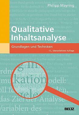 E-Book (pdf) Qualitative Inhaltsanalyse von Philipp Mayring