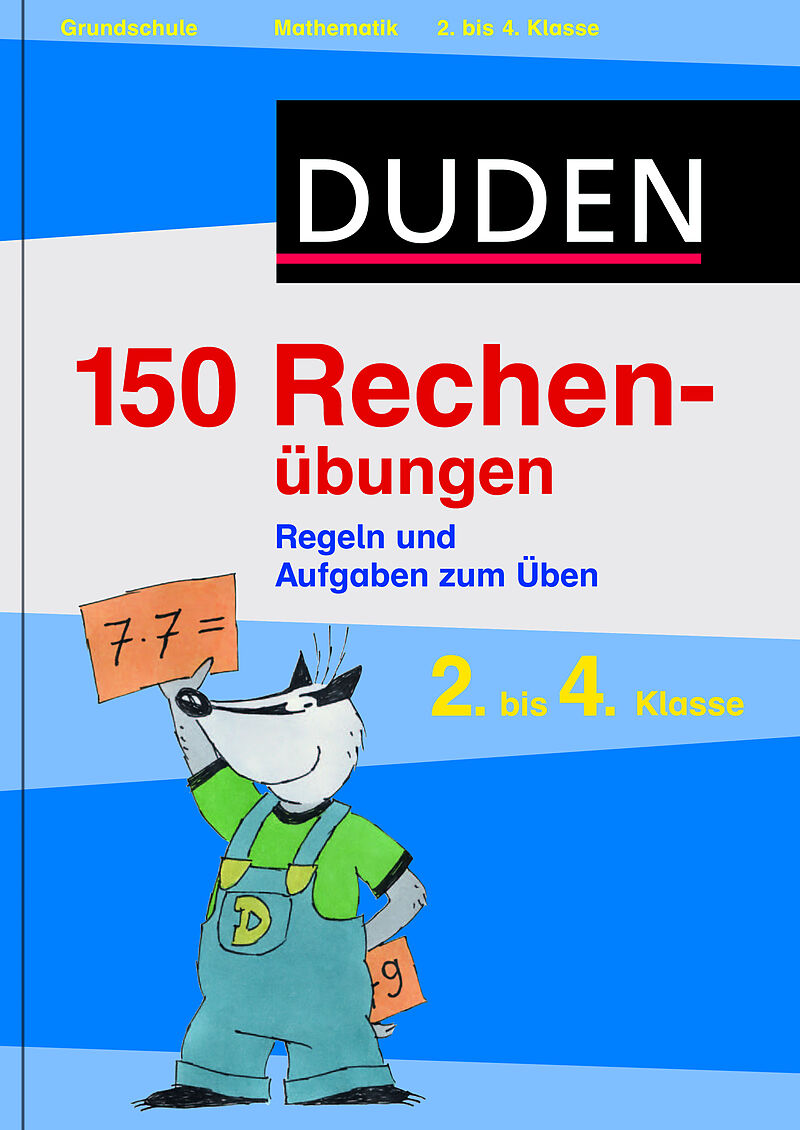 Duden - 150 Rechenübungen Mathematik [Versione tedesca]