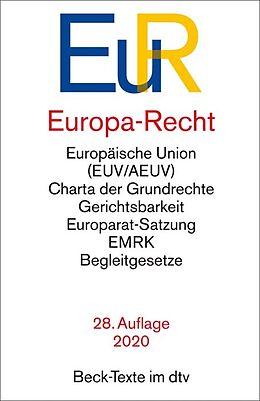Kartonierter Einband Europa-Recht von