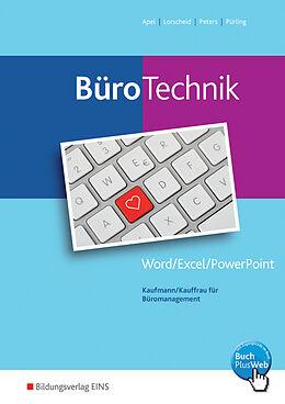 BüroTechnik 01. Word / Excel / Powerpoint. Schülerband [Versione tedesca]