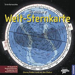 Drehbare Welt-Sternkarte [Versione tedesca]