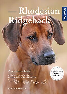 E-Book (epub) Rhodesian Ridgeback von Claudia Körner