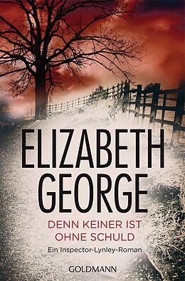 Taschenbuch Denn keiner ist ohne Schuld von Elizabeth George