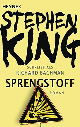Kartonierter Einband Sprengstoff von Stephen King