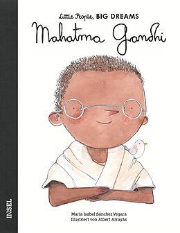 Fester Einband Mahatma Gandhi von María Isabel Sánchez Vegara