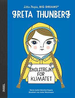 Fester Einband Greta Thunberg von María Isabel Sánchez Vegara