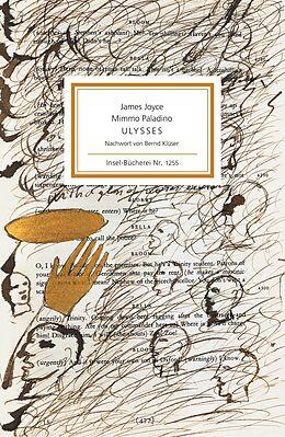 Kartonierter Einband Ulysses von James Joyce, Mimmo Paladino
