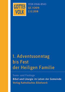 Kartonierter Einband Gottes Volk LJ C1/2019 von Klaus Nientiedt, Hanns Sauter, Nicole Stockhoff