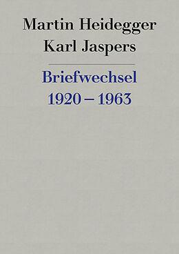 Fester Einband Briefwechsel 1920-1963 von Martin Heidegger, Karl Jaspers