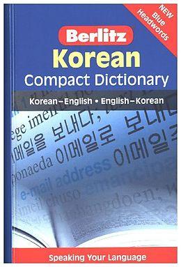 Berlitz Compact Dictionary Korean [Versione tedesca]