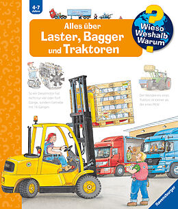 Fester Einband Wieso? Weshalb? Warum? Alles über Laster, Bagger und Traktoren (Band 38) von Andrea Erne
